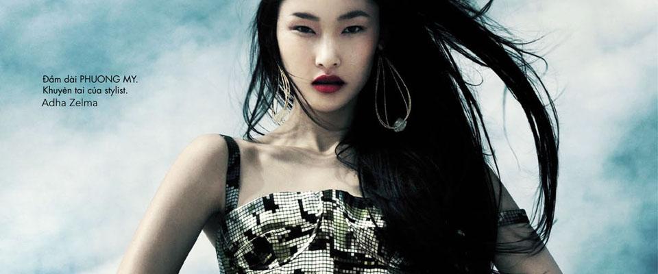 Adha Zelma - Elle Vietnam July 2011