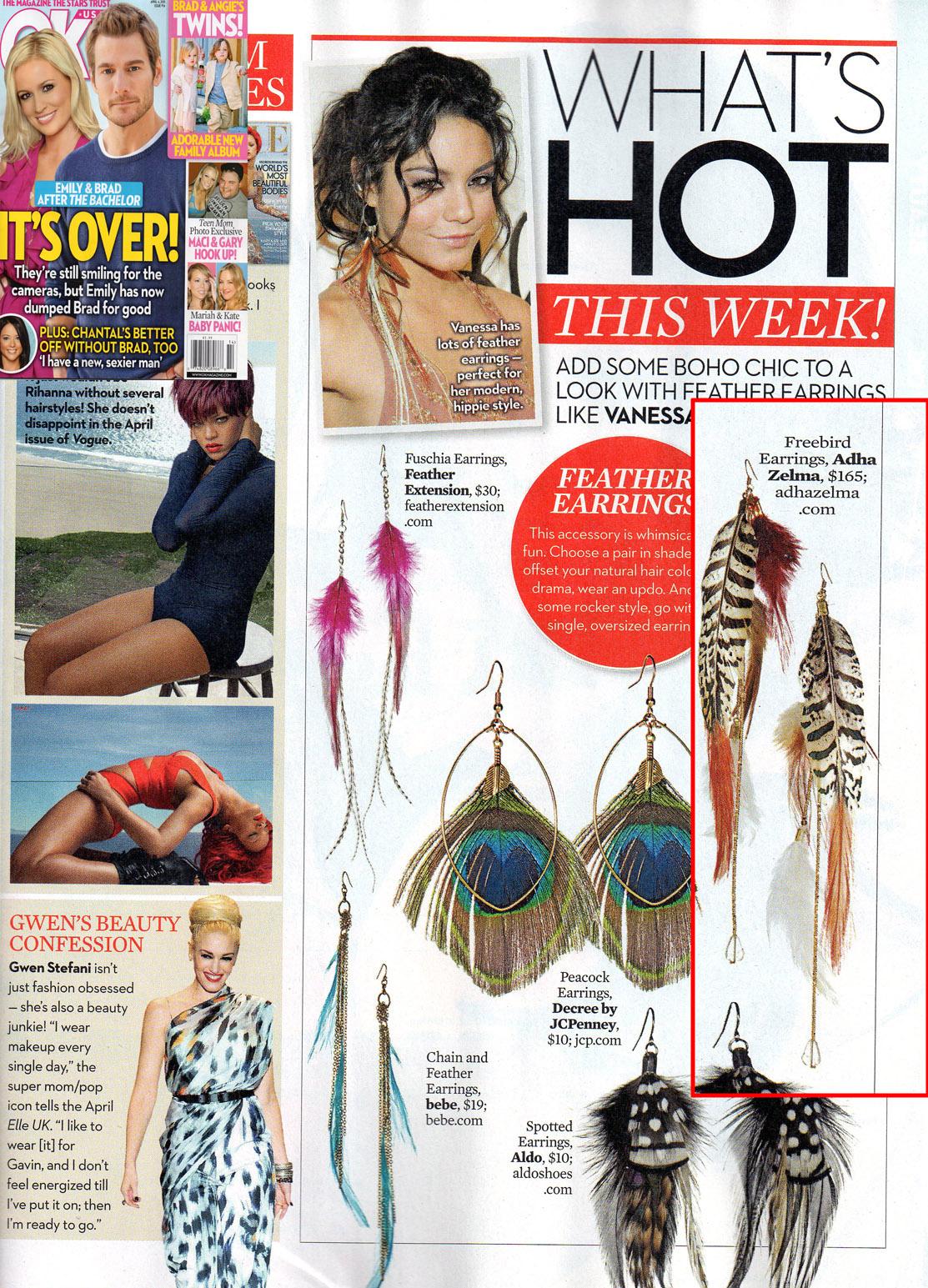OK Magazine! - Adha Zelma Jewelry